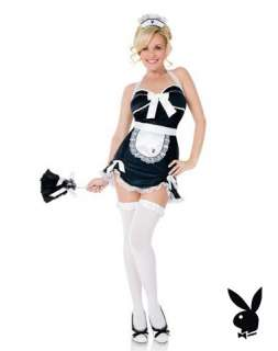 Playboy Sexy French Maid Adult Womens Costume