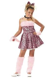 Costumes Animal & Bug Costumes Cat Costumes Girls Pink Cat Costume