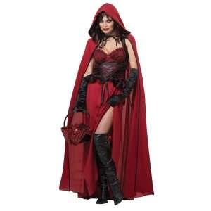 Dark Red Riding Hood Adult Costume, 802076