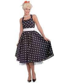 50s Cutie Costume for Women  Fifties Polka Dot Party Dress
