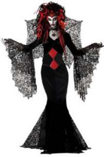 costumes in shopping cart nightmare black widow medium
