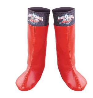 Power Ranger Red Boot Covers   These bright red boot covers will