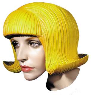 Adult Flip Rubber Wig   Halloween Costume Wigs   15DU1362