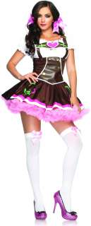 Lil German Girl Adult Costume   Includes Dress. Does not include