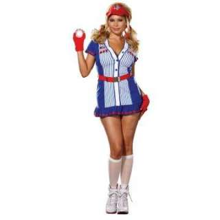 All American Plus Adult Costume   Includes Dress, Belt, Gloves, soft