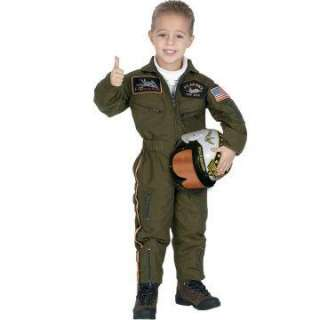 Jr. Armed Forces Pilot with Helmet Toddler Costume   includes jumpsuit