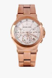 Rose Gold Chronograph by Michael Kors Watches   Metallic   Buy Watches