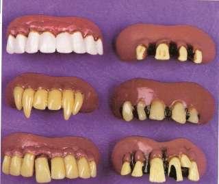 Vampire Fange Teeth Costume dentures