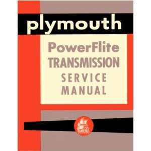 1946 1953 1954 PLYMOUTH Transmission Service Manual