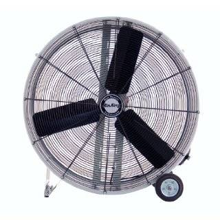 9936D Industrial Grade Belt Driven Drum Fan, 36 Inch