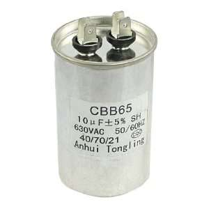 AC 630V 10uF Thread Type Capacitance Motor Start up Capacitor
