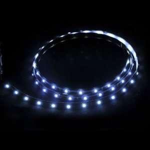 60 White LED Flexible Neon Car Light Strip Led SMD