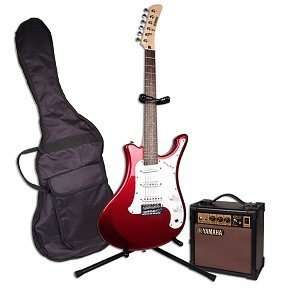 Rod Red Electric Guitar Kit w/Stand Bag AMP More Musical Instruments