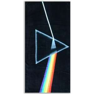 Pink Floyd Dark Side of the Moon Beach & Bath Towel Everything Else