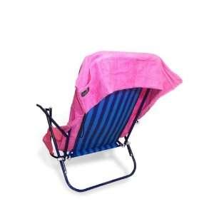NEW ITEM   Pink Pool Chair Towel With Pockets for Cell