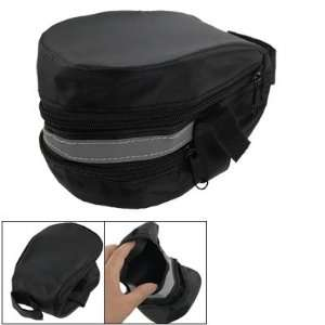 Closure Bike Bicycles Rear Saddle Seat Bag Black Sports & Outdoors