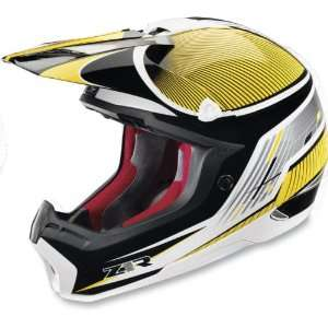 Z1R Nemesis Helmet Full Face Mens Yellow Large: Sports & Outdoors