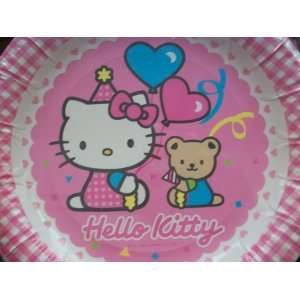Hello Kitty Birthday Party Paper Plates (6 count) Toys