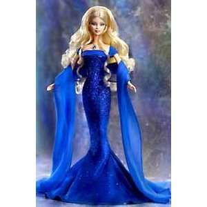 BIRTHSTONE COLLECTION SEPTEMBER SAPPHIRE BARBIE DOLL Toys