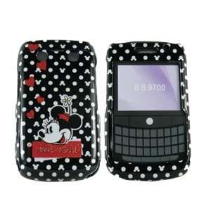 Blackberry Bold 9700 / 9780 Minnie Mouse White Polka Dots