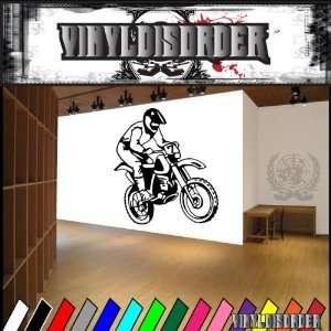 Dirt Bike Bikes Moto Freestyle Large Sport Sports Vinyl Decal Stickers
