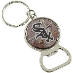 White Sox Real Tree Camo Bottle Opener Keychain: Sports & Outdoors