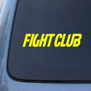 FIGHT CLUB   Fighting Boxing   Vinyl Car Decal Sticker #1664  Vinyl