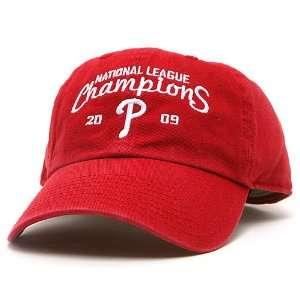 National League Champions Cap   Scarlet Adjustable