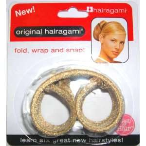 Hairagami The Original Hair Bun Updo Fold, Wrap & Snap Styling Tool