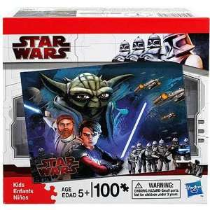 Star Wars Clone Wars Puzzle [Yoda   100 PCS] [Toy] Toys & Games