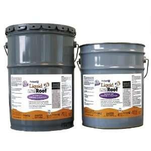 Liquid Roof RV Roof Repair Liquid EPDM Coatings   5 Gallon Pail