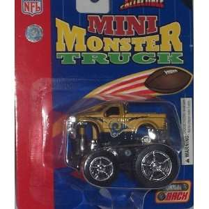 Mini Monster Truck NFL Diecast Ford F 350 Fleer Team Car Collectible