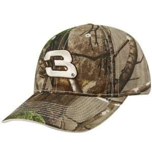 Dale Earnhardt Real Tree Camo Adjustable Hat:  Sports