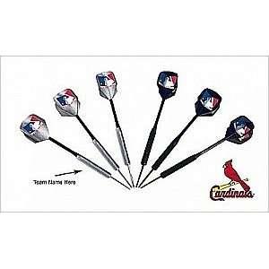 MLB St. Louis Cardinals Darts and Flights Set