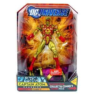 DC Universe Series 4 > Captain Atom (Gold Suit Variant) Action Figure