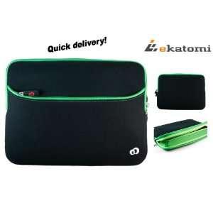 Green Laptop Bag for 10 inch Dell 2628OBK, mini 10, mini