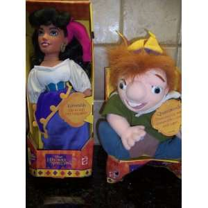 ESMERALDA AND QUASIMODO (NEW! 1995 RETIRED) : Toys & Games :