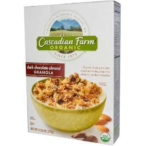 Cascadian Farm   Dark Chocolate Almond Grocery & Gourmet Food