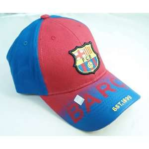 FC BARCELONA OFFICIAL TEAM LOGO CAP / HAT   FCB035  Sports