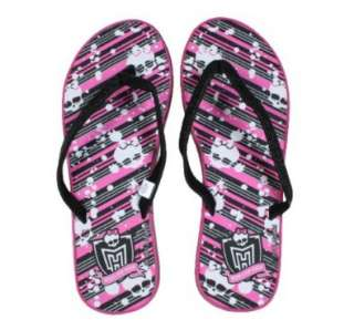 Monster High Logo Wedge Flip Flop: Shoes