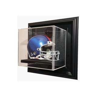 Case Up Single Mini Football Helmet Display Case (Black