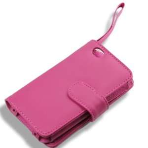 [Aftermarket Product] [Pink] Leather Case Cover Guard Pocket