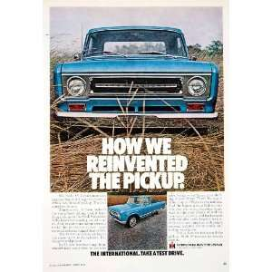 1969 Ad International Harvester Pickup Truck Transportation Motor