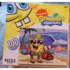 NICKELODEON SPONGEBOB SQUAREPANTS 100 PIECE PUZZLE: Toys & Games
