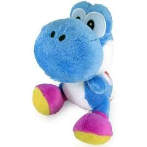 Nintendo Super Mario Bros. Dark Blue Yoshi Plush Toys & Games
