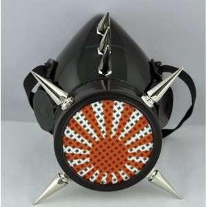 Rising Sun Spike Gas Mask Japan Anime Ninja Warrior Steam Punk
