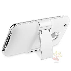 on Hard Case , White w/ Chrome Stand Chrome Cell Phones & Accessories