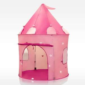 Pink Princess Castle Kids Play Tent Girl Fairy Play House