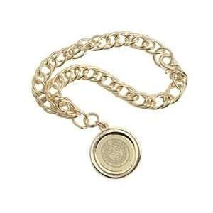 Texas A&M   Charm Bracelet   Gold