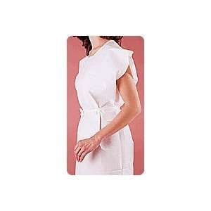 3 Ply White Disposable Exam Gowns   Case of 50